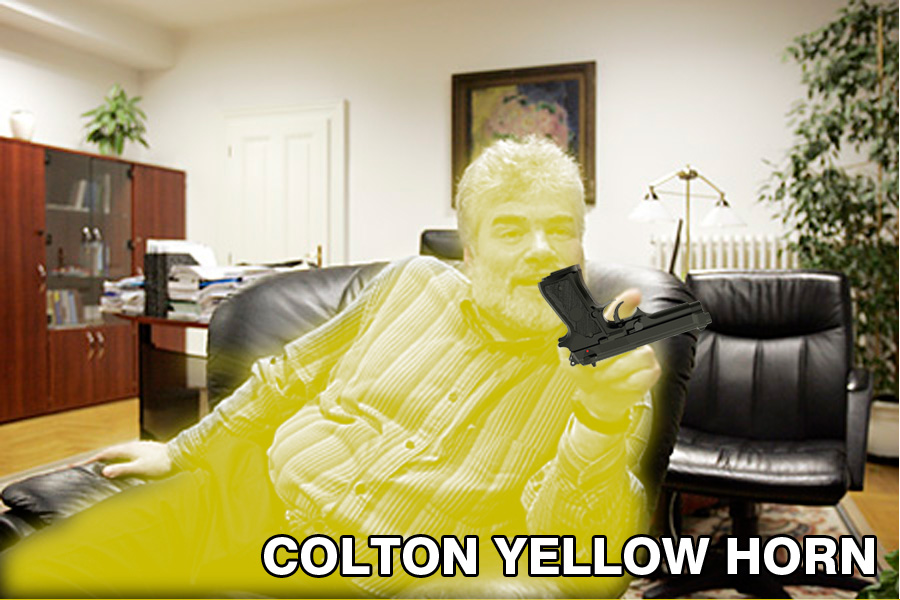 Colton Yellow Horn