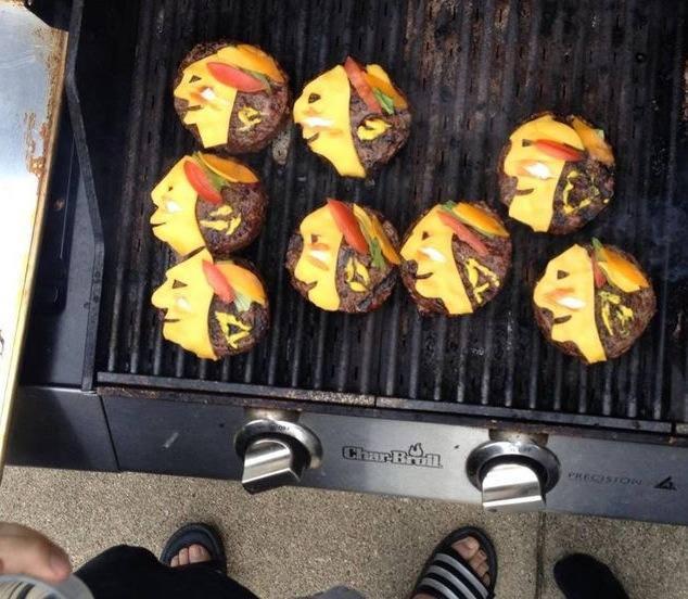 Blackhawks Burger