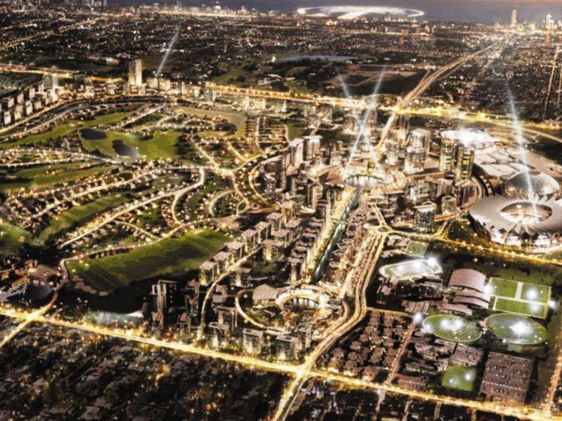 Dubaj sport city