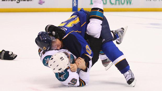 NHL fight 3