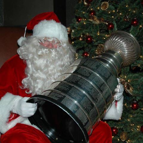 NHL Santa