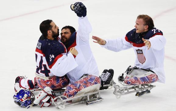 USA sledge hockey
