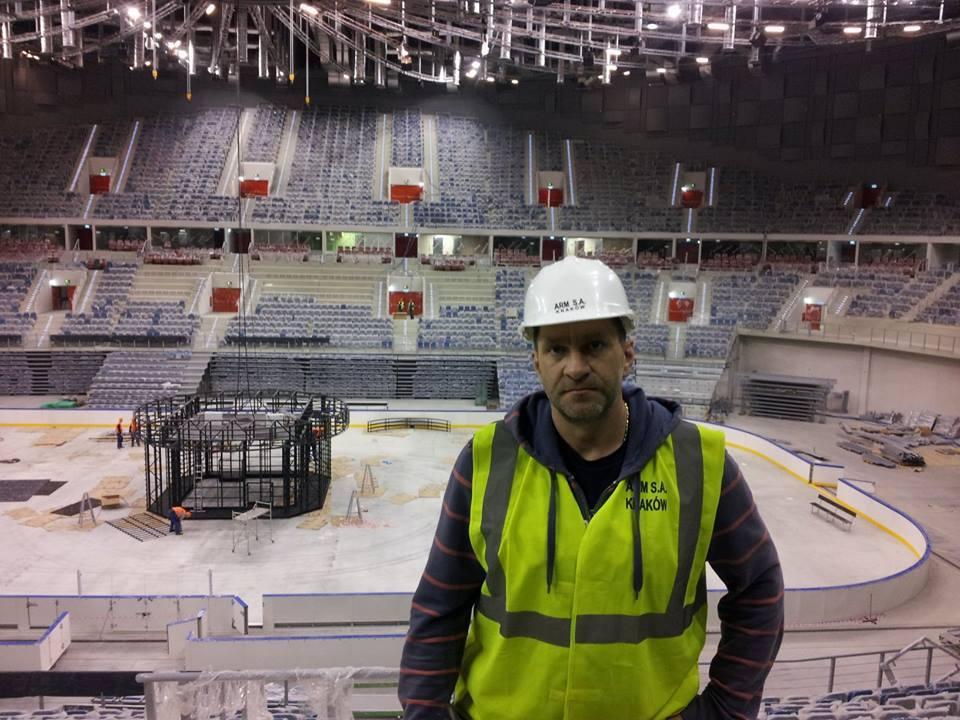 Daniel Laszkiewicz in Arena Krakow