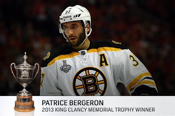 award bergeron