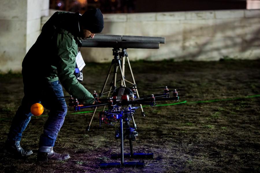 dron WC 1