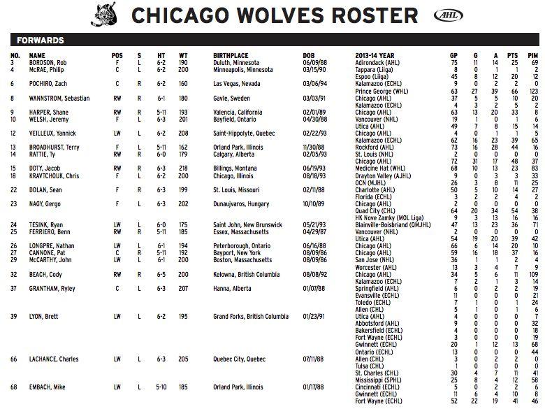 23 Nagy Gergo chicago Wolves