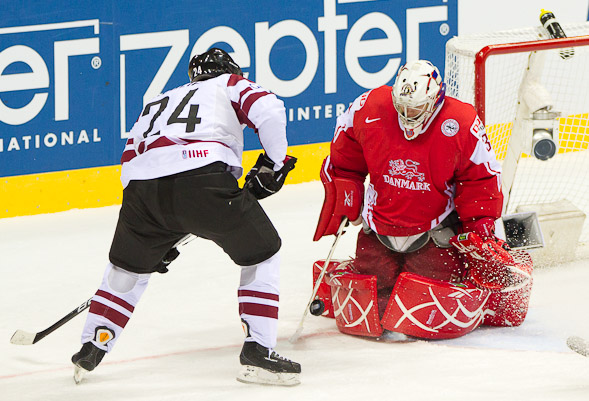 Hockey - Denmark vs Latvia