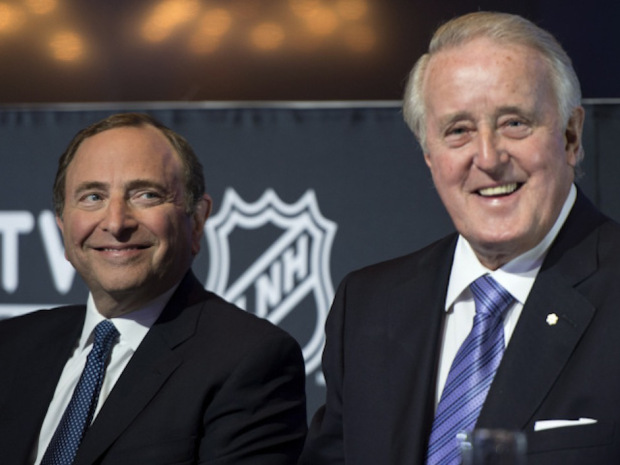 Gary Bettman Brian Mulroney