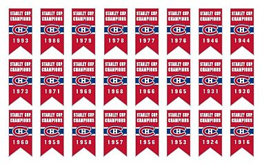 Habs - Banner Pins - All