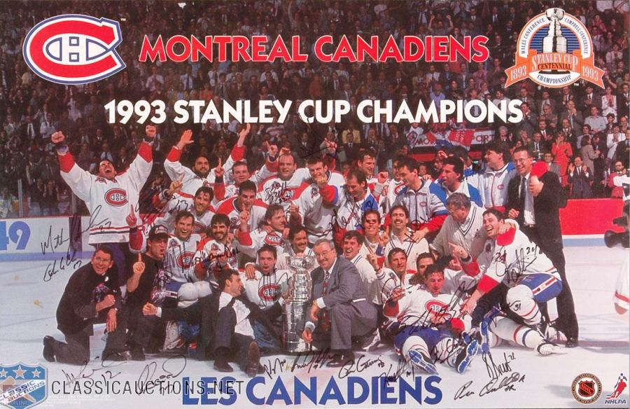 Montreal 1993 sign
