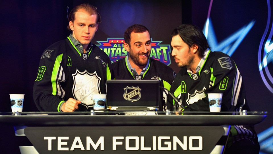 TeamFoligno NHL All Star fantasy draft