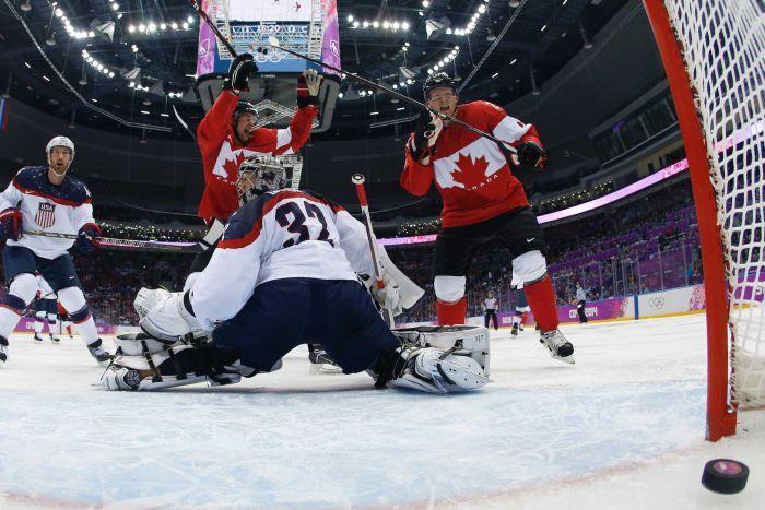 Canada Sochi gol