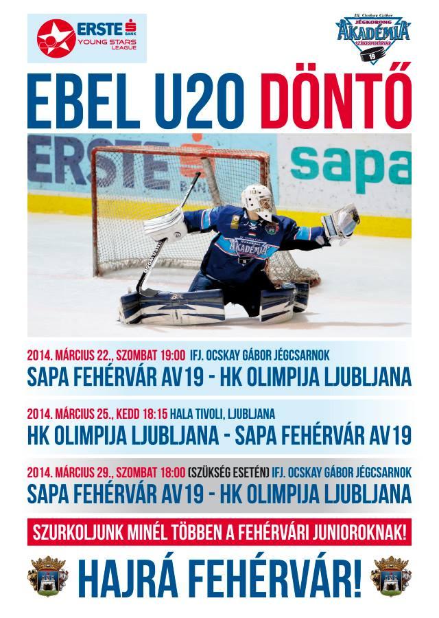 EBEL U20 plakat