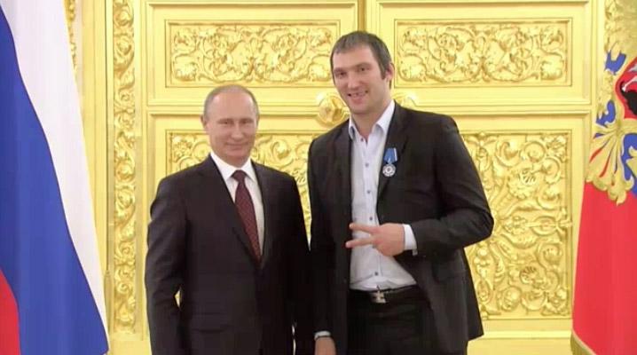 Ovecskin Putyin