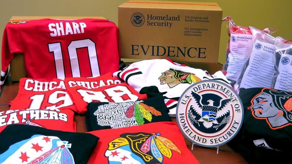 fake merchandise