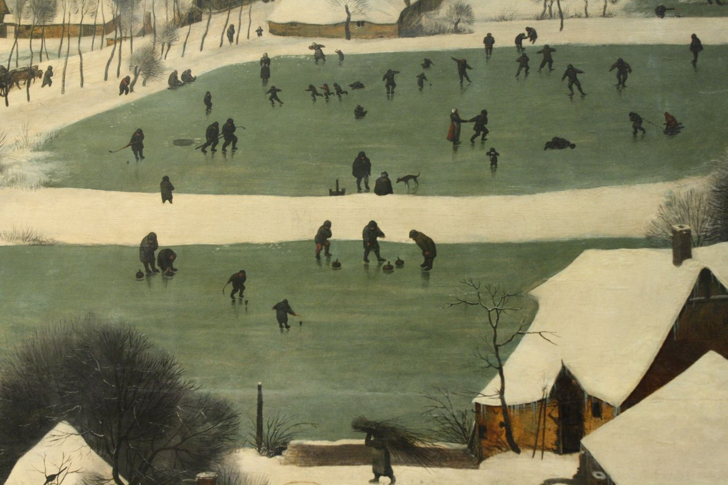 Pieter Bruegel (Elder) - Hunters in the Snow (winter)