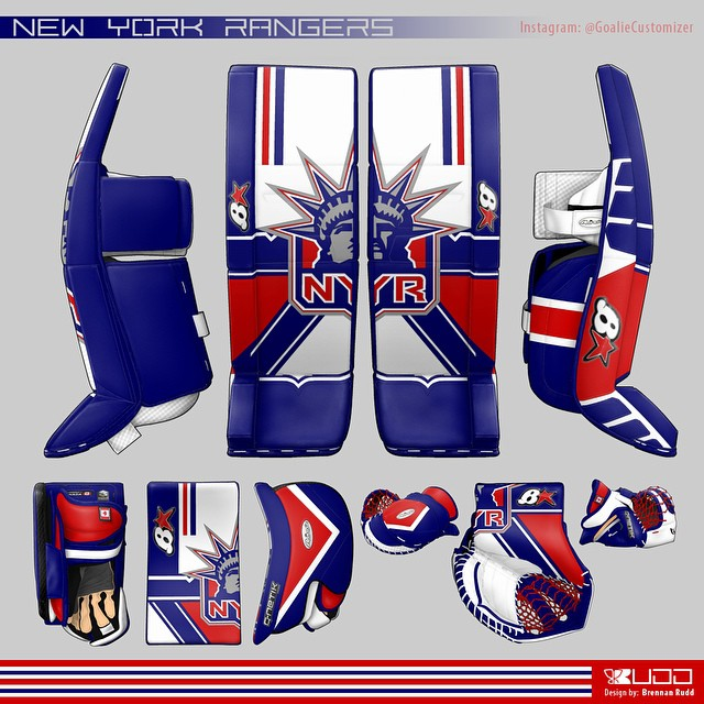 nyr goaliecustomizer