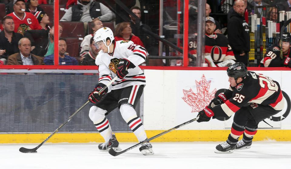 Chicago Blackhawks v Ottawa Senators