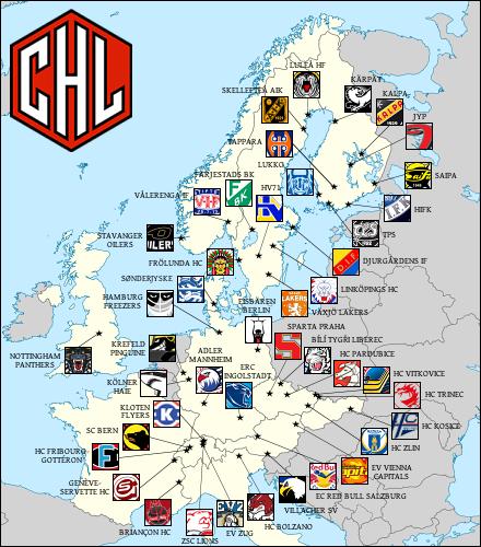 CHL map