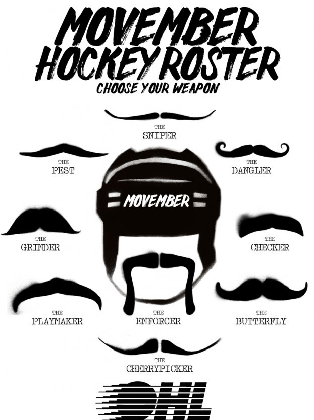 Movember Hockey Roster 20132517