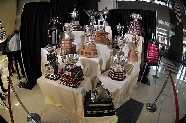 NHL trophies