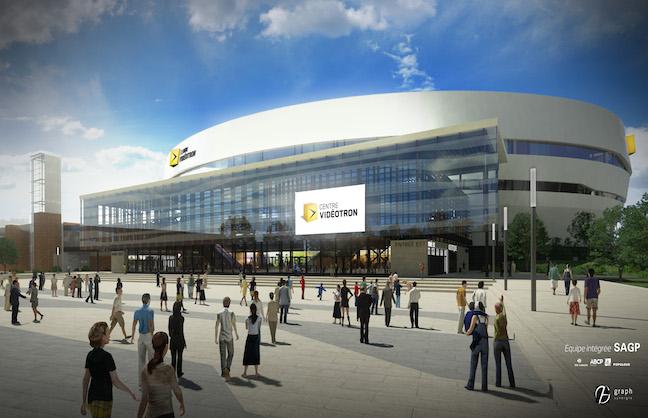 Vidéotron Arena Quebec