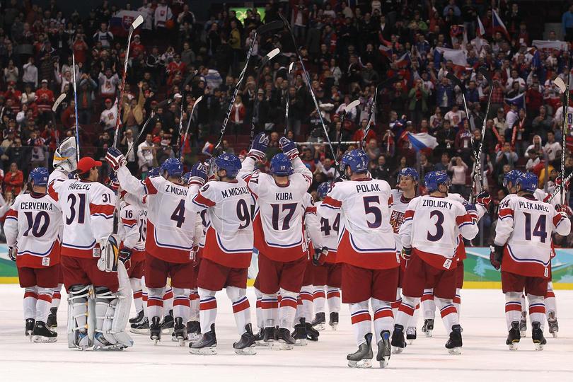 Ice Hockey - Day 6 - Czech Republic v Slovakia