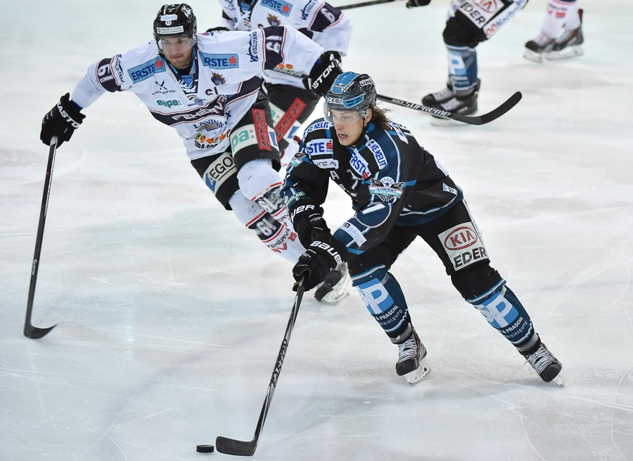 AUT, EBEL, Liwest Black Wings Linz vs Sapa Fehervar AV 19
