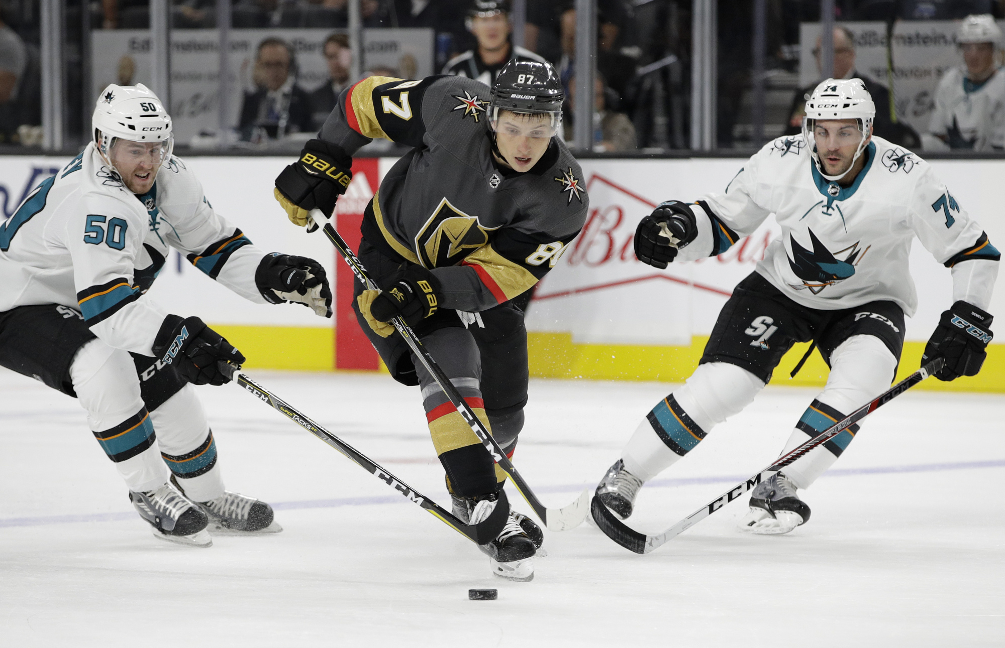 Golden Knights Sharks Hockey