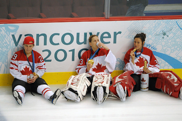 Womens-hockey-team-celebrates-like-Canadians-politically-correct-fairies-highly-offended
