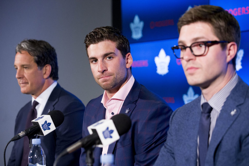 The Toronto Maple Leafs have signed John Tavares for seven years, $77 million.