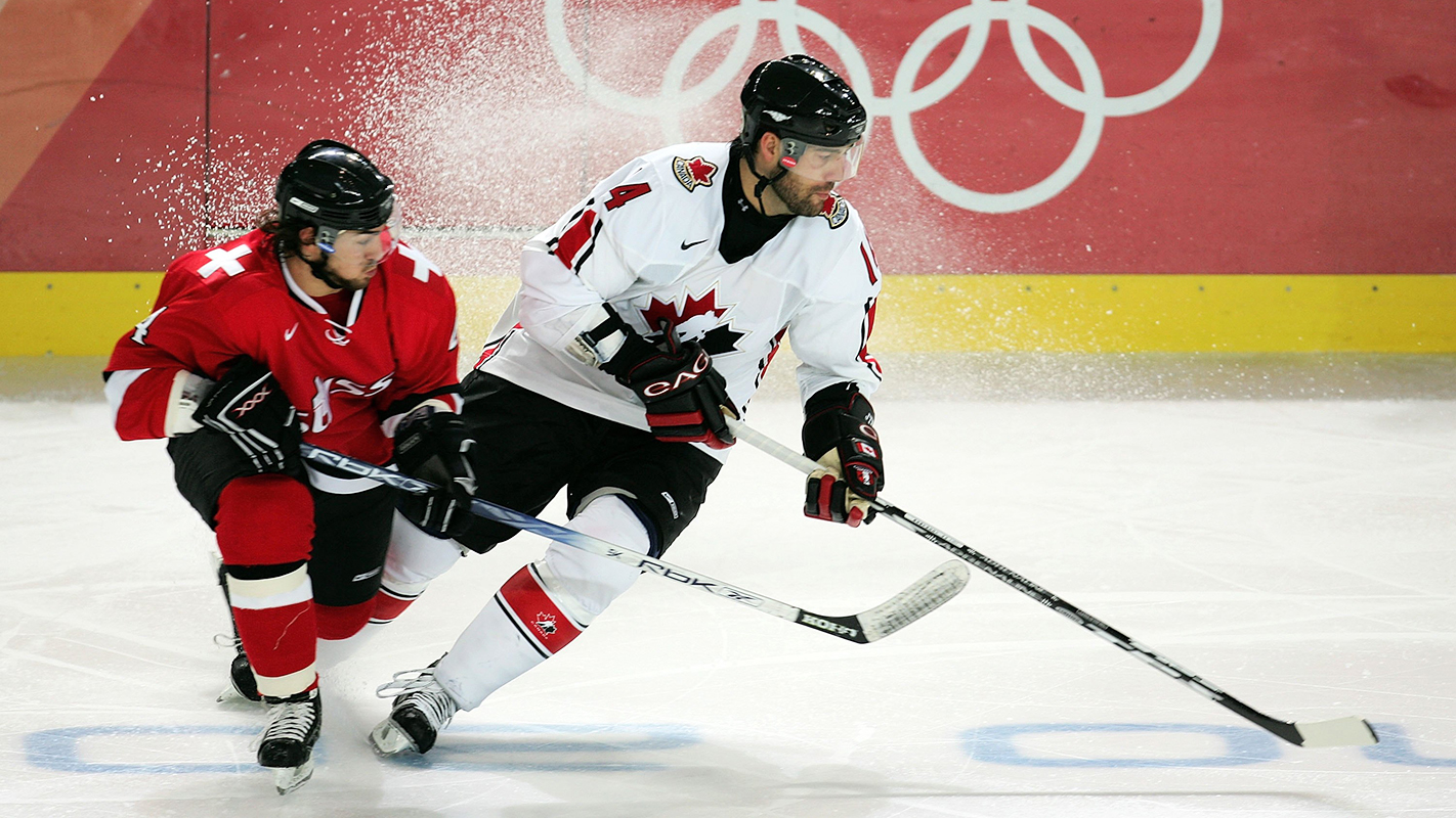 Ice Hockey - Canada v Switzerland