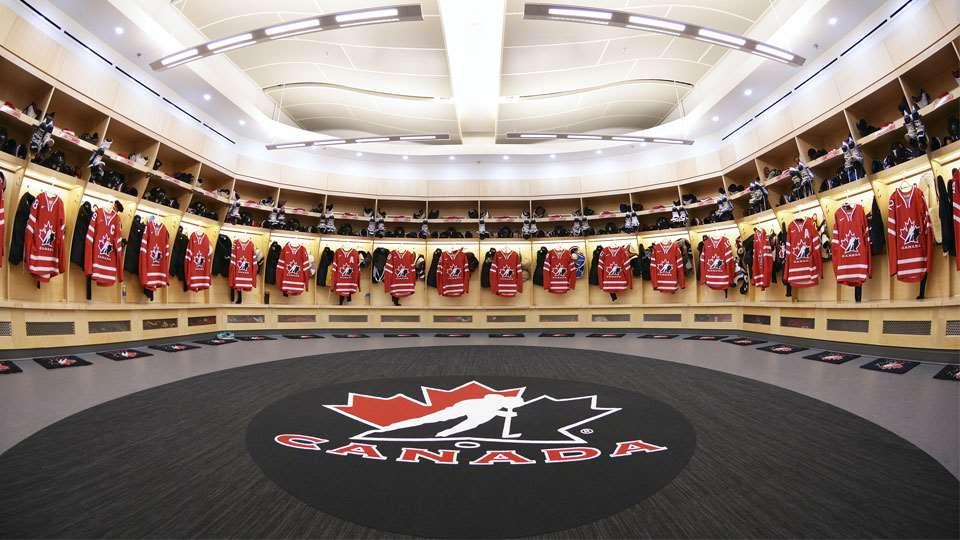 team-canada-dressing-room