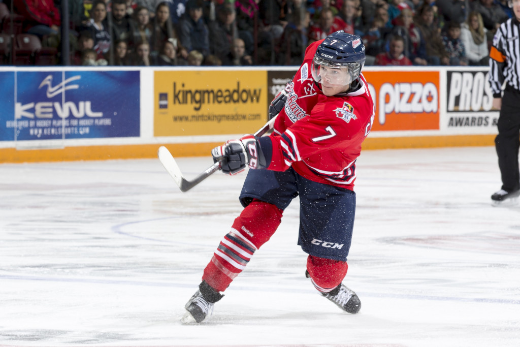 Oshawa Generals against the Mississauga Steelheads on February 2, 2014