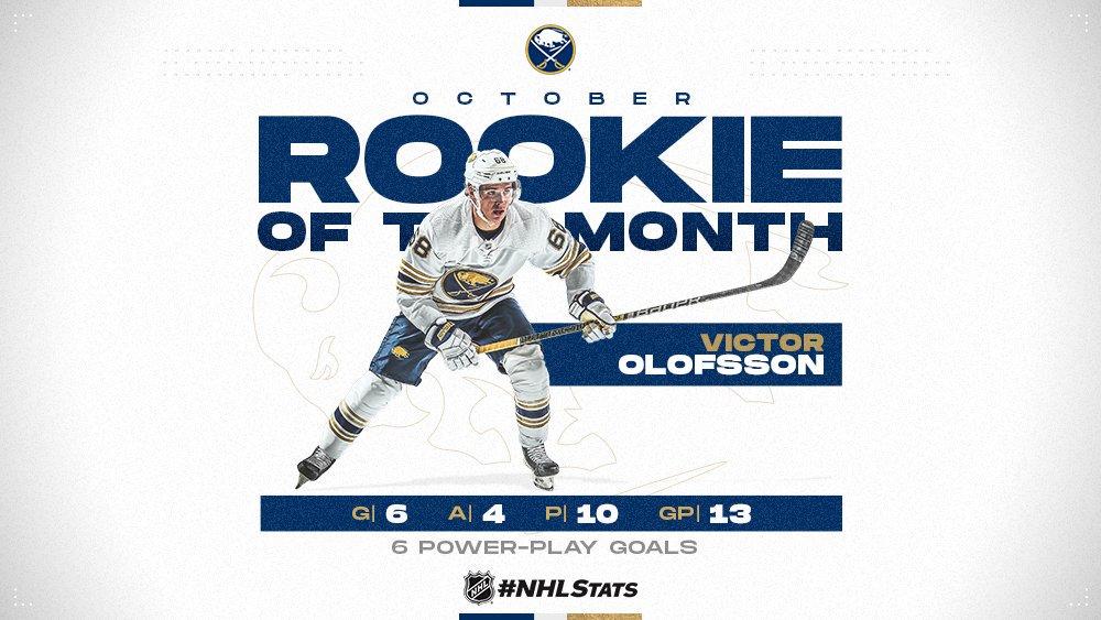 oloffson october rookie