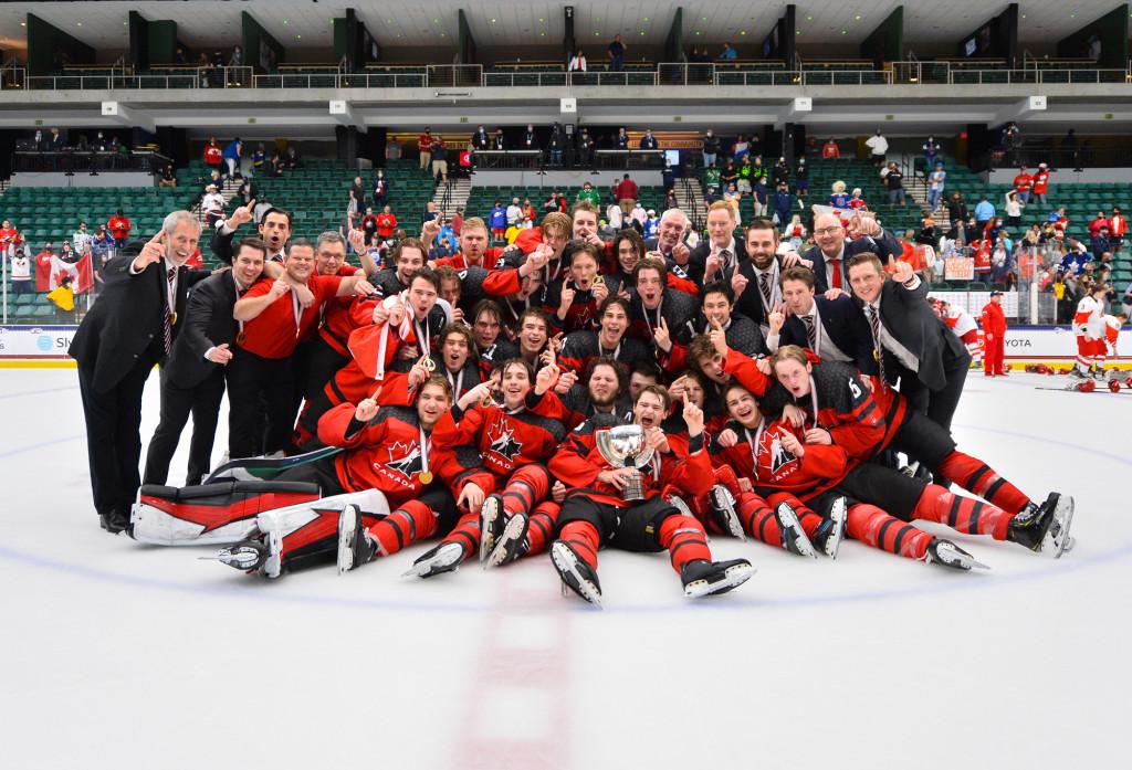 8 év után lett ismét világbajnok Kanada